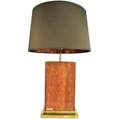 Vintage Marble Table Lamp by Camille Breesch, 1970s