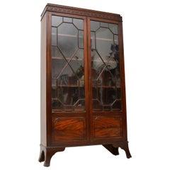 Antique Edwardian Mahogany Bookcase