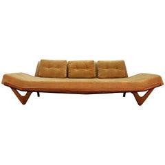Mid-Century Modern Adrian Pearsall Gondola Sofa on Boomerang Legs 2303
