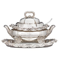 Chrysanthemum Covered Soup Tureen by Tiffany & Co.