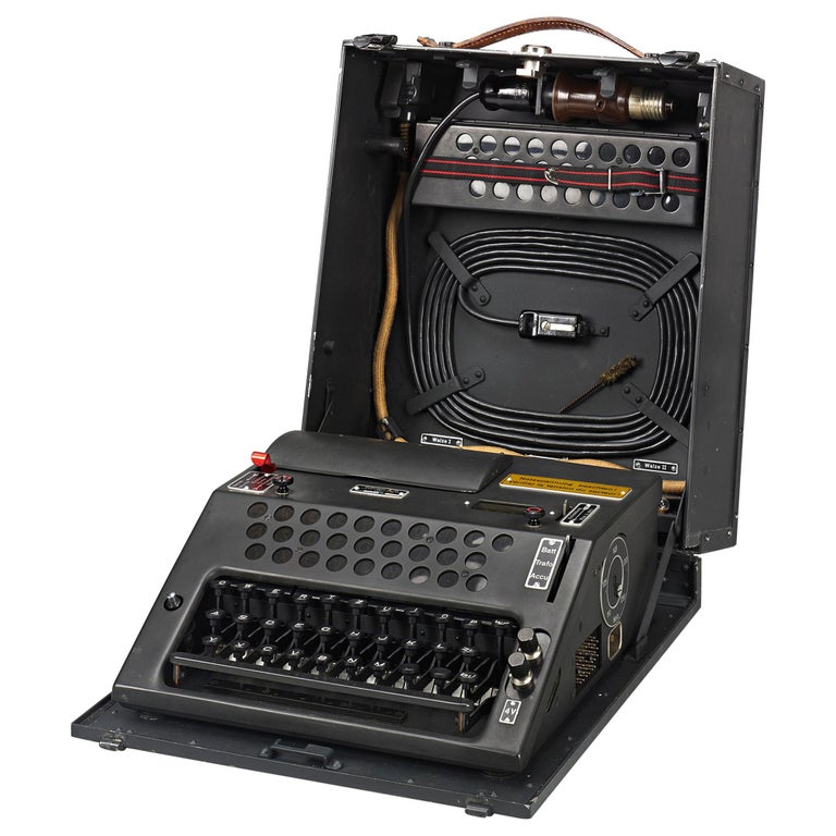 Swiss NEMA Cipher Machine