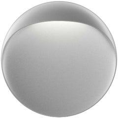 Small 'Flindt' Indoor or Outdoor Wall Light in Aluminum Gray for Louis Poulsen