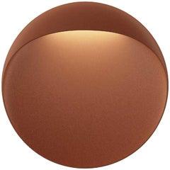 Small 'Flindt' Indoor or Outdoor Wall Light in Cortens Red for Louis Poulsen