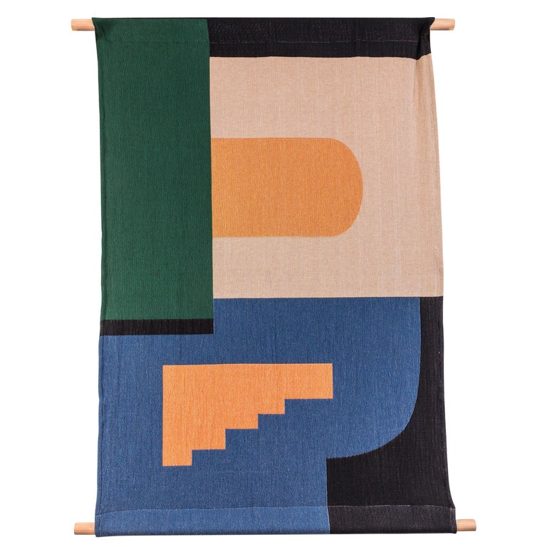 Architecture Tapestry by Studio Herron For Sale