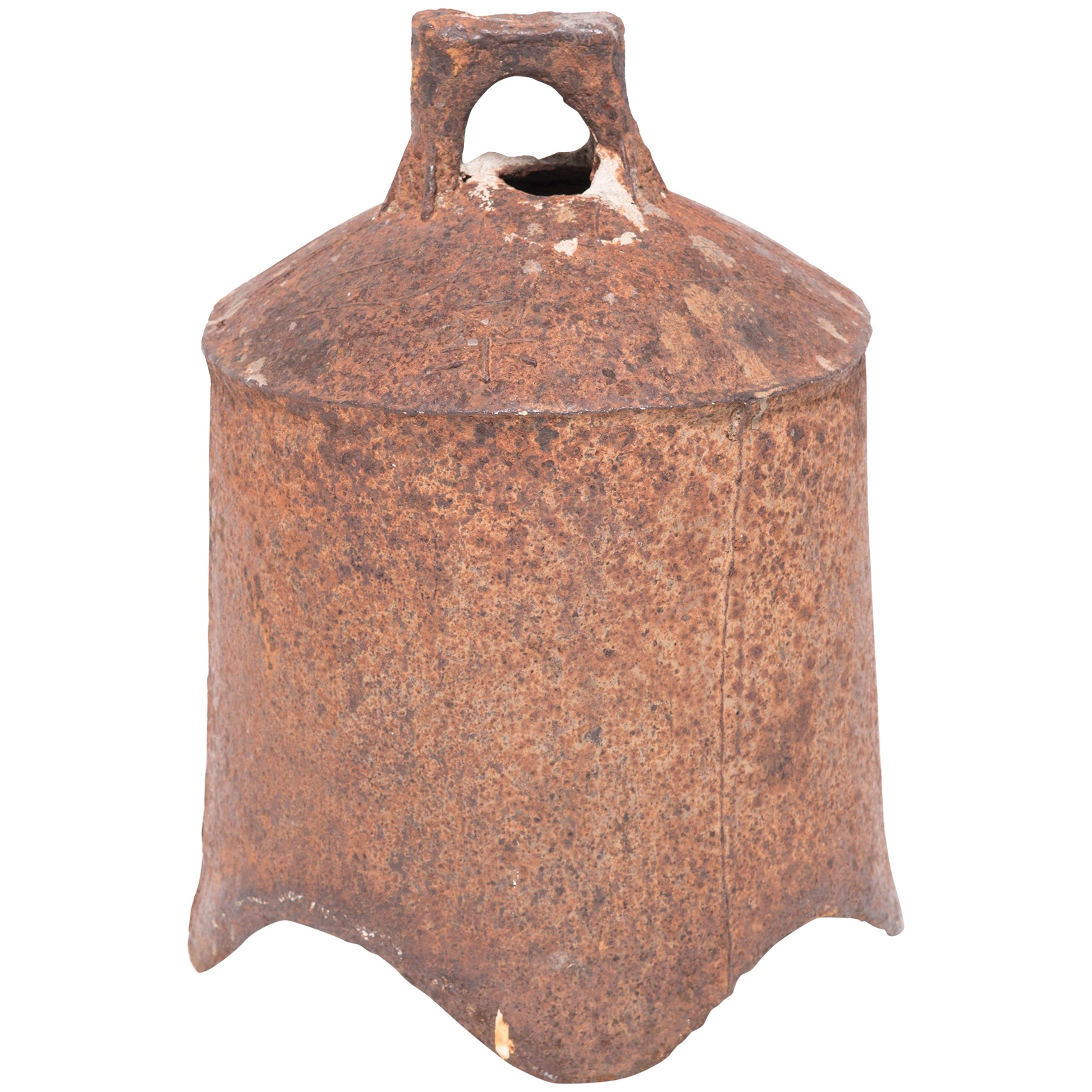 19th Century Chinese Iron Bell