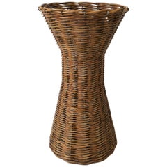 Wicker Umbrella Stand or Vessel