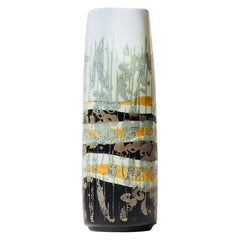 Danish Modernist, Abstract Ceramic Vase by Ivan Weiss for Royal Copenhagen