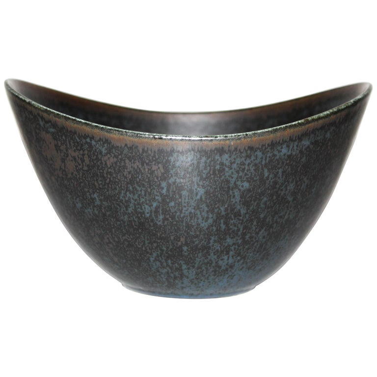 Gunnar Nylund Large Ceramic Bowl for Rörstrand For Sale