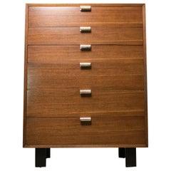Mid-Century Modern George Nelson for Herman Miller Tallboy Six-Drawer Dresser