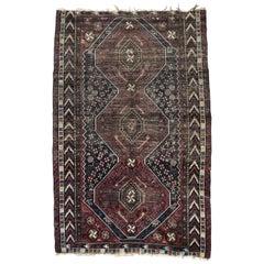 Antique Fine Ghashghai Rug