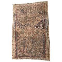 Beautiful Antique Persian Senneh Kilim Rug
