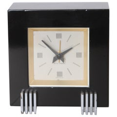 Machine Age Art Deco Henry Dreyfuss for Seth Thomas Iconic Dickson Table Clock
