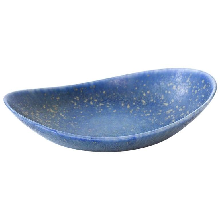 Midcentury Organic Stoneware Tray by Carl-Harry Stålhane for Rörstrand, Sweden
