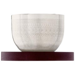 Puiforcat Jacaranda Small Spice Bowl with Rosewood Stand