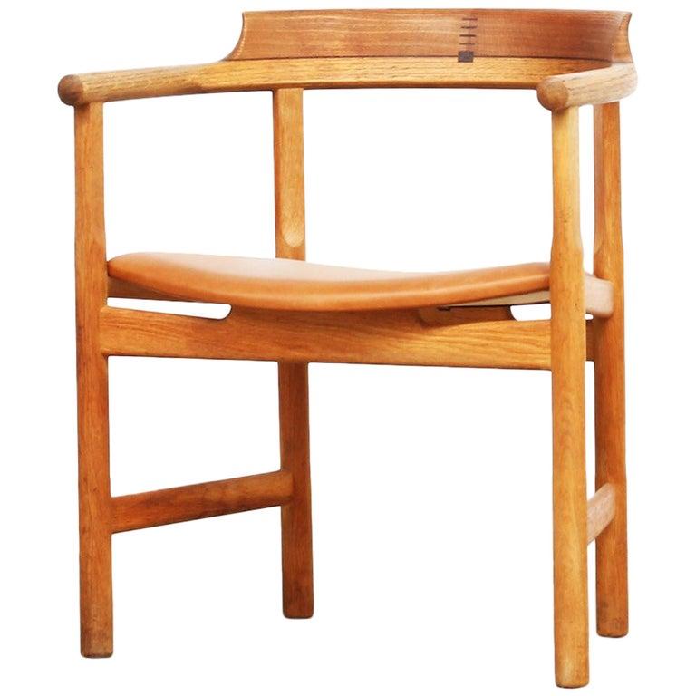 Armchair by Hans Wegner for PP Mobler in Oak, Denmark
