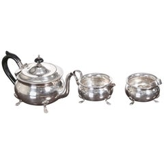 Antique Silver Plated Tea Set