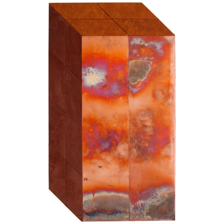 Contemporary Sculptural Wall Piece by Miriam Loellmann, One of a Kind, 2018 For Sale
