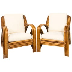 Pair of Paul Frankl Lounge Chairs