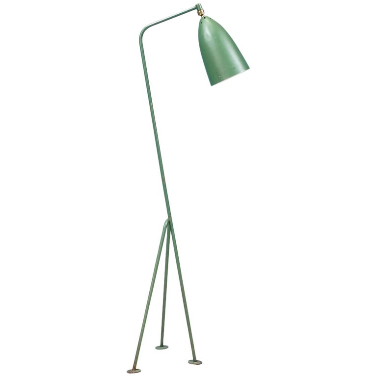 "Greta M. Grossman ""Grasshopper"" Floor Lamp for Ralph O. Smith"