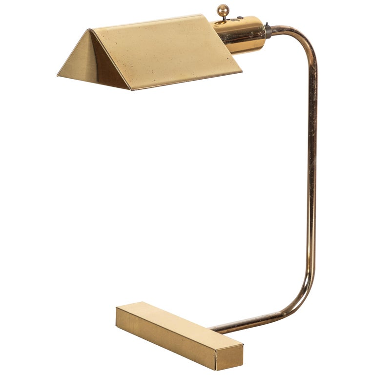 Desk Lamp by Gerald Thurston For Sale