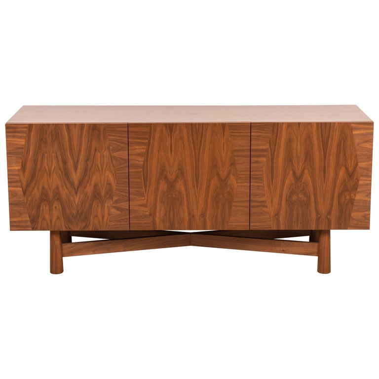 3-Door Bronson Cabinet by Lawson-Fenning For Sale
