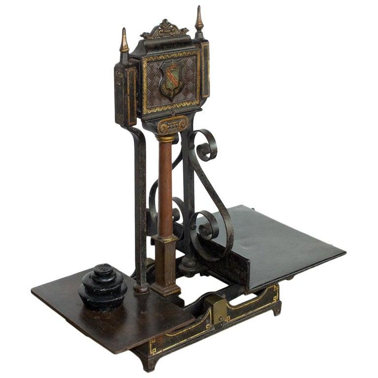 Antique English Avery Balance Scale