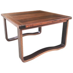 Chic 1960s Westnofa Modern Rosewood Cocktail Table, Norway