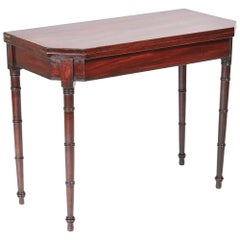 George III Mahogany Tea / Side Table