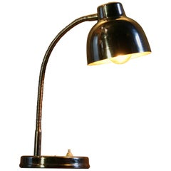 1960s Polish Table Lamp in Chrome