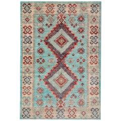 Afghan Rugs, Kazak Rugs from Afghanistan, Kind of Traditional Rugs