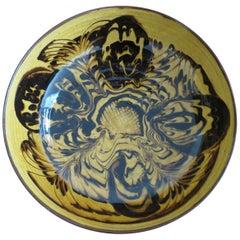 Welsh Vintage Slipware Bowl by Teifi