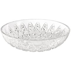 Saint-Louis Udaipur Clear Crystal Table Centerpiece with Engraved Detail