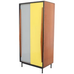 Mid-Sized Wardrobe Cabinet by Willy Van Der Meeren for Tubax