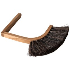 Superstition Handbroom, Ash Bentwood Handle Horsehair Bristles, Limited Edition