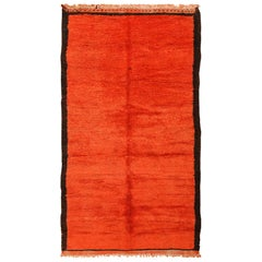 Room Size Vintage Moroccan Rug