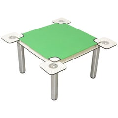 Poker, Card Table by Joe Colombo for Zanotta, 1968