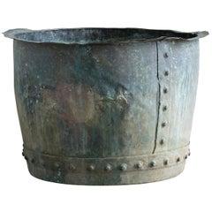 19th Century Copper Vat