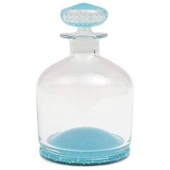 Tiffany Blue Glass Decanter, Classic Shape, Many Colors Available, Custom