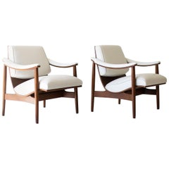 Modern Thonet Lounge Chairs