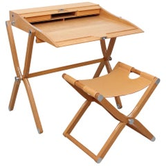 Hermès Pippa Folding Desk and Stool