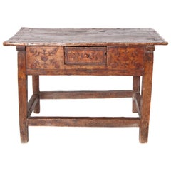 18th Century Spanish Colonial Table from Columbia
