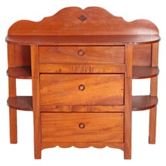 William Spratling Chest with Side Shelves