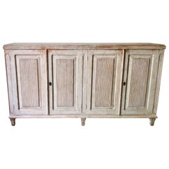 19th Century Swedish Gustavian Long Sideboard