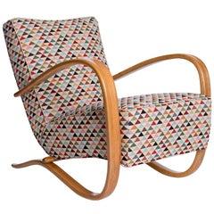 H-269 Streamline Chair by Jindrich Halabala for Spojene UP Zavody, 1930s