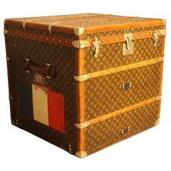 1920s Louis Vuitton Cube Steamer Trunk-Louis Vuitton Cube Trunk