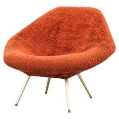 "Swedish ""Eva"" Lounge Chair, Dahléns Dalums Fåtöljindustri AB, 1960s"