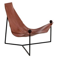 """Poltrona Triangolo"" Striking Armchair by the Master of Brazilian"
