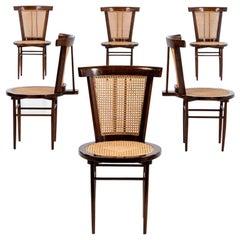 """Signature Dining Chairs Set by Joaquim Tenreiro """"Cadeira Small"""""""