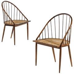 Masterly Designed Pair of Armchairs by Joaquim Tenreiro