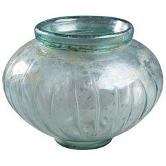 Glass Urn, Roman Period, 1st–2nd Century AD